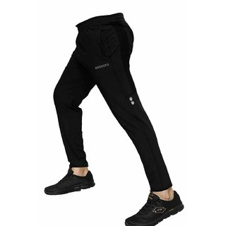 Barkeyo Mens Stylish Regular Fit Jean Style Jogger Lower Track Pants for Gym Running Athletic Casual Wear Pack of 1