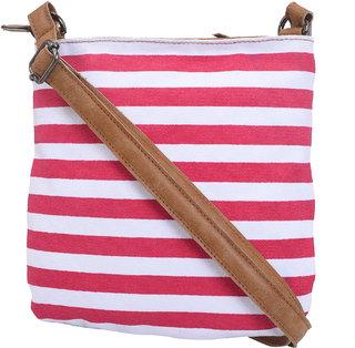 Urbanity Beautiful Pink Stylish Sling Bag for Women (Pink)