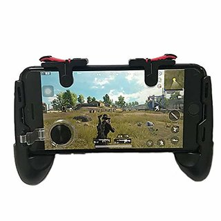 Mobile Game Controller Gamepad Phone Grip with Joystick/Fire Buttons for 5.06.0 Inch Mobile Phone Android iOS Gamepad