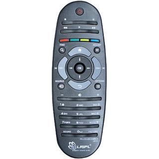 LRIPL UN126 Universal Philips Smart LED LCD TV Remote Controller (Black)