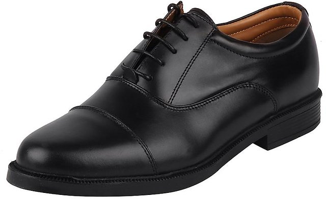 Buy Bata Men Black Formal Lace Up Shoes
