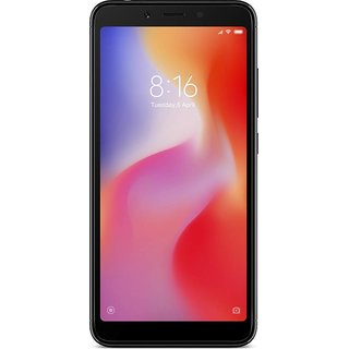 Redmi 6 (Black, 32 GB)  (3 GB RAM)