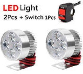 FOG LIGHT 4 LED 2 PCS FREE 1 ON/OFF SWITCH
