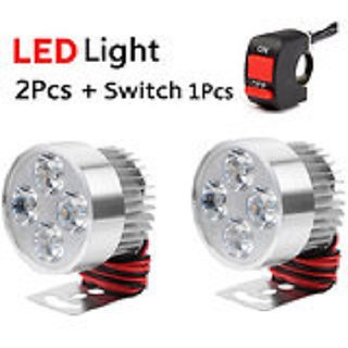FOG LIGHT 4 LED 2 PCS FREE 1 ON/OFF SWITCH