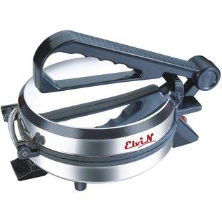 Elvin Silver Durable Electric Machine Non-Stick Papad/Phulka/Khakhra/Roti/Chapati Maker For Home Kitchen Multi-Utility