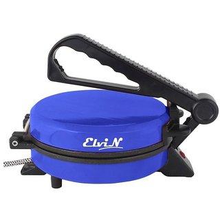 Elvin Blue Durable Electric Machine Non-Stick Papad/Phulka/Khakhra/Roti/Chapati Maker For Home Kitchen Multi-Utilities