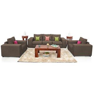 Houzzcraft Azzaro sofa set (3+1+1)