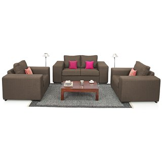 Houzzcraft Azzaro sofa set (2+1+1)