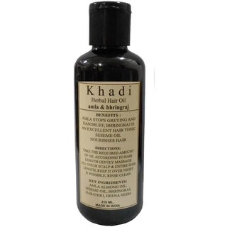 Khadi Amla Bhringraj Hair oil 210ml