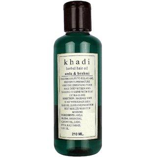 Khadi Amla & Brahmi Hair oil 210ml