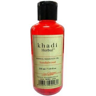 Khadi Sandalwood Massage oil 210ml