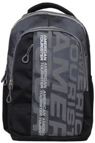 American Tourister Black And Grey Laptop Bag