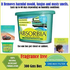 ABSORBIA Moisture Absorber Season pack (300Gms Box)