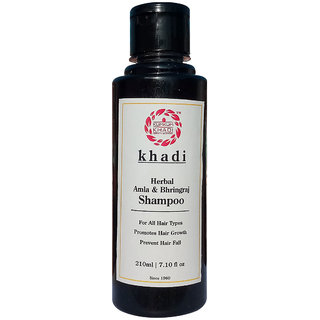 Kumkum Khadi Amla Bhringraj Shampoo - 210ml