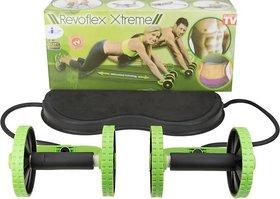 AVMART Xtreme Fitness Resistance Exerciser Tube Ab Exerciser  Black