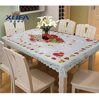 PVC DININIG TABLE COVER FOR 4 SEATER 40x60 INCH