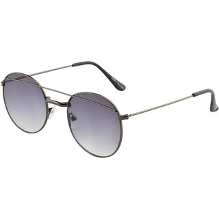 Fair-X Grey Gradient Round Bar Unisex Sunlgasses - SS1422