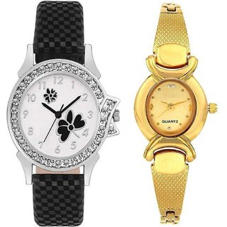 TRUE CHOICE NEW FANCY AND NEW LOOKING COMBO WATCH FOR WOMEN AND GIRL WITH 6 MONTH WARRNTY