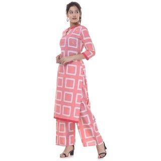 Phoenix Women Stitched Straight Printed Kurti Cotton Kurti Jaipuri Kurti