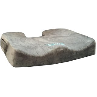 Bael Wellness Seat Cushion for Sciatica Coccyx Tailbone Orthopedic Back Pain Relief. ACA Approved