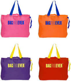 Bagforever Pack Of 4 Shopping Bags 6 Months Warranty