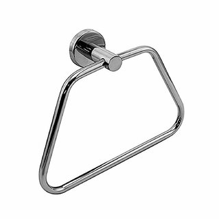 Kridhay Natura Life Heavy Stainless Steel Towel Rings/Towel Bar/Towel Holder for Bathroom and Sink (KD-TOWELRING-4)