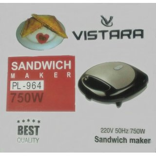 VISTARA Sandwich Maker PL-964 (750W)