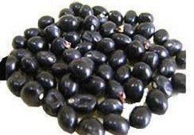 Vinarghya Gunja Kala Black Gunja Black Rosary Pea Kali Gumachi Chirmi Beads - 21 Pcs