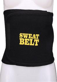 Theta Women's Shapewear sweat belt  (Black)