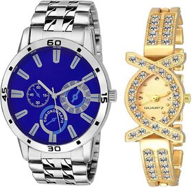 TRUE CHOICE NEW BRANDED AND LETEST COUPLE WATCH WITH 6 MONTH WARRNTY