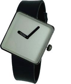 JM New Squre Dila Analog Black Black Watch