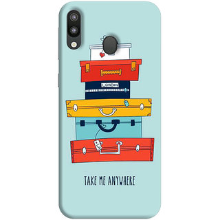 FurnishFantasy Mobile Back Cover for Samsung Galaxy M20 (Product ID - 1148)