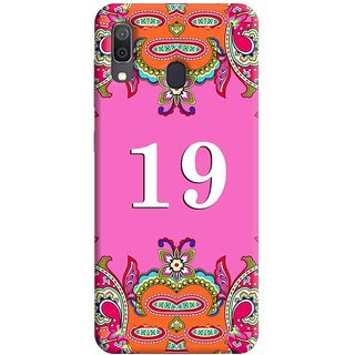 FurnishFantasy Mobile Back Cover for Samsung Galaxy A30 (Product ID - 1377)
