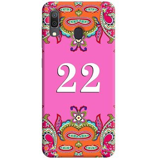 FurnishFantasy Mobile Back Cover for Samsung Galaxy A30 (Product ID - 1380)