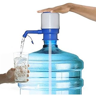 Water Bottle Dispenser Manual Hand Press Multicolor High Quality Plastic Pump