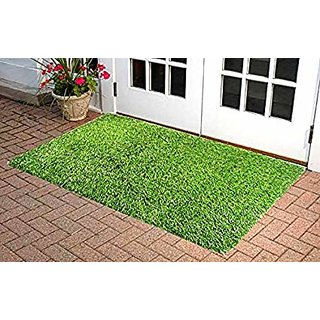 Best Artificial Grass For Balcony or Doormat Soft and Durable Plastic Turf Carpet Mat Artificial Grass (5 X 2 feet )