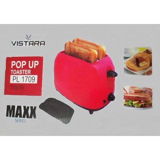 VISTARA POP UP TOASTER PL 1709 (700W)