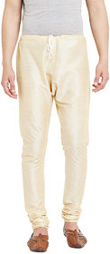 DISONE White silk churidar for men