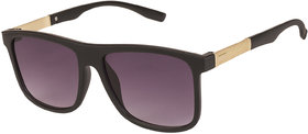 Arzonai Marico Wayfarer Black-Black UV Protection Sunglasses For Men & Women |MA-501-S1|
