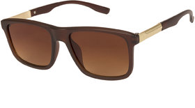 Arzonai Marico Wayfarer Brown-Brown UV Protection Sunglasses For Men  Women MA-501-S2