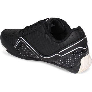 Buy Sparx Men SM-394 Black White Sports