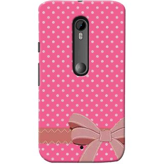 Digimate Printed Designer Soft Silicone TPU Mobile Back Case Cover For Motorola Moto X Play Design No. 0364