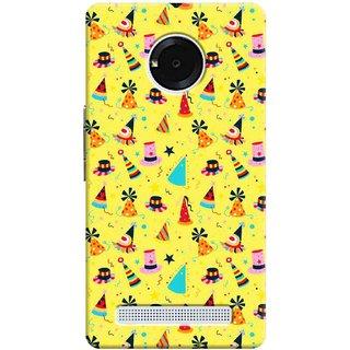 Digimate Printed Designer Soft Silicone TPU Mobile Back Case Cover For Yu Yuphoria Design No. 1211