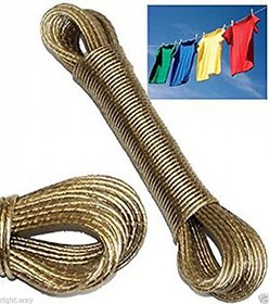 Unique 10 meter PVC Coated Steel Anti-Rust Wire Rope Washing Line Clothesline
