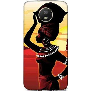 Digimate Printed Designer Soft Silicone TPU Mobile Back Case Cover For Motorola Moto G5S Design No. 1163