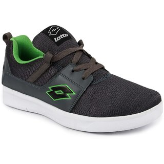 buy lotto men's gray casual shoe online  ₹2499 from shopclues