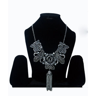 srissubh A2 oxy jewellery with silver flower fancy design for girls and women