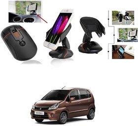 KunjZone Mouse Style High Quality Car Mobile Holder Car Cradle for Maruti Suzuki Zen Estilo