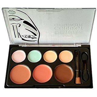 Mars Contour and Highlighter Correct Cream Palette