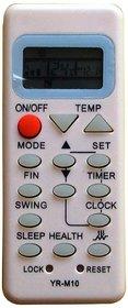 Haier YR-M10 split ac remote controller